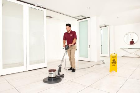 commercial floor cleaning in Asheville, NC